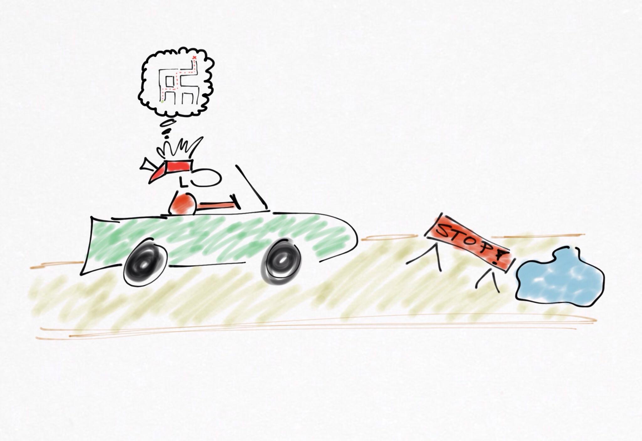 Skulle Du Köra Bil Med Förbunda ögon?